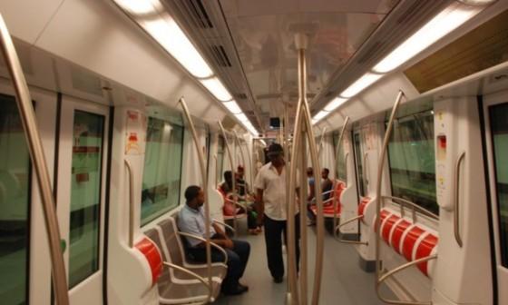 metro personas pasajeros