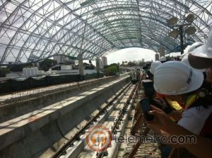 Rieles Metro de Panama