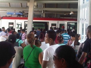 Miles de pasajeros son beneficiados con el sistema de Metro de Santo Domingo
