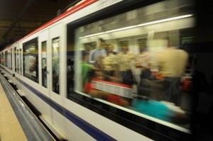 Metro Movimiento Ventana