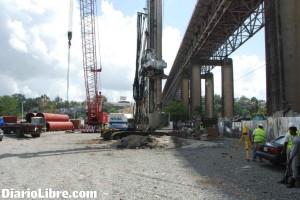 trabajos del metro en gualey