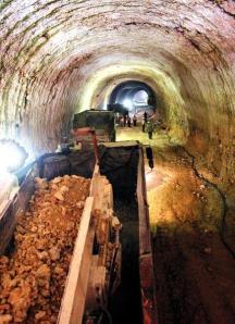 Expectativas. Las autoridades prevén que en los próximos cuatro meses habrán terminado las excavaciones y el túnel quedará con su revestimiento. listo para instalar los equipos requeridos. Imagen de Google